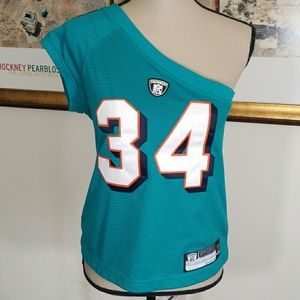 DOLPHINS  ONE SLEEVE TOP💥